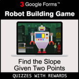 Find the Slope Given Two Points | Robot Building Game | Go