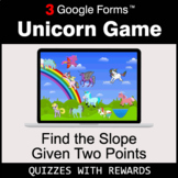 Find the Slope Given Two Points | Unicorn Game | Google Fo