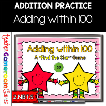 Find the Star - Practicing Adding within 100 PPT Game