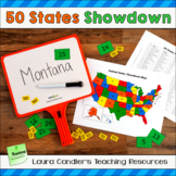 States and Capitals Game | 50 States Showdown Review Activity