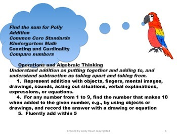 Find the Sum for Polly Addition