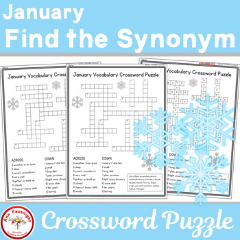 Find the Synonym | January