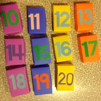 Find the Teddy Bear Numbers Game
