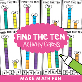 Find the Ten - Bridging to 10 Addition Activity Cards