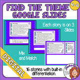 Find the Theme Digital Slides Differentiated Google Classroom Distance Learning
