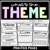 Theme Lessons and Task Cards