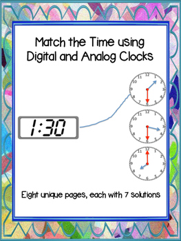 Find the Time (Digital and Analog Matching)