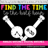 Find the Time: To the Half-Hour