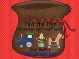Find the Toys {Christmas Sight Word Game}
