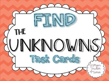 Find the Unknowns