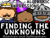 Find the Value of the Unknown (Addition and Subtraction) Centers and MORE!