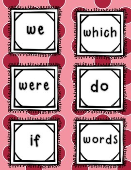 Find the Valentine ~FREEBIE~ Sight Word Edition