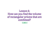 Find the Volume of a Composite Figure PowerPoint