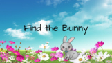 Find the bunny sight word game (1st)