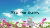 Find the bunny sight word game (2nd)