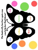 Find the butterflies missing spots! Busy Binder Activity