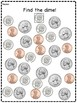 Find the coins worksheet