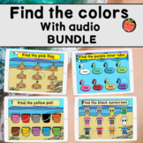 Find the colors with audio bundle   Beach Summer Boom cards