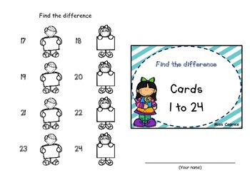 Find the difference - 1rst and 2nd grade