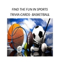 Find the fun in sports trivia flash cards (Basketball)