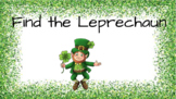 Find the leprechaun sight word game (second)