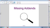 Find the missing addend