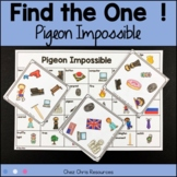 Find the one !   Pigeon Impossible  + flashcards
