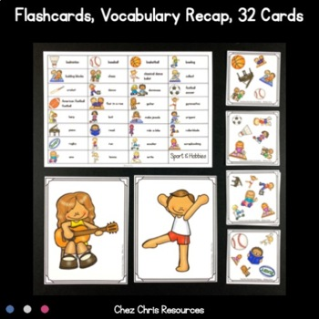 Find the one !   Sport and Hobbies  + flashcards
