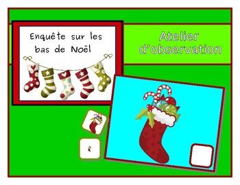 Find the right Christmas stocking -  Enquête au pays des bas de Noël