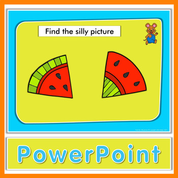 Find the silly picture - Kindergarten and pre-K game