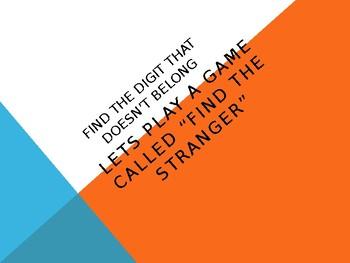 Find the stranger fact family slides