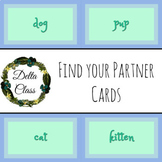Find your Partner or Group Cards