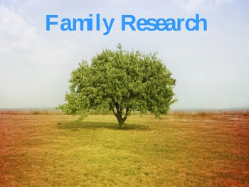 Find your family story!