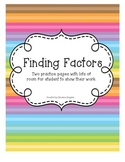 Finding All the Factors