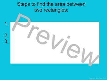 Finding Area Between Two Rectangles