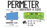 Finding Perimeter & Area Posters