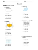 Finding Area Test