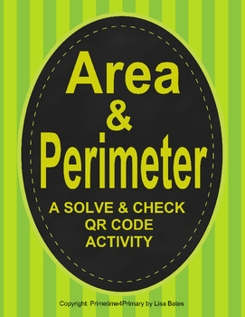 Finding Area and Perimeter: A QR Code Activity