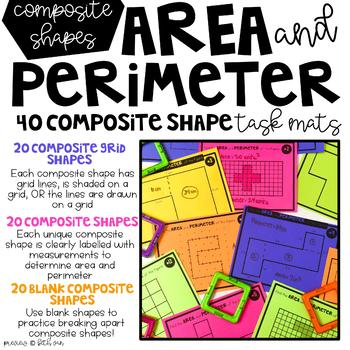 Finding Area and Perimeter of Complex Shapes