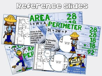 Finding Area and Perimeter of Rectangles - GOOGLE CLASSROOM