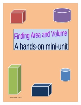 Finding Area and Volume