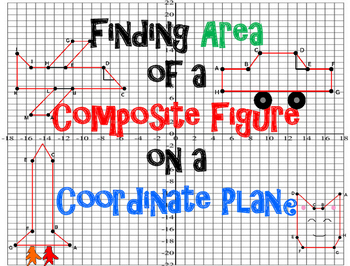 Finding Area of Composite Figures on the Coordinate Plane