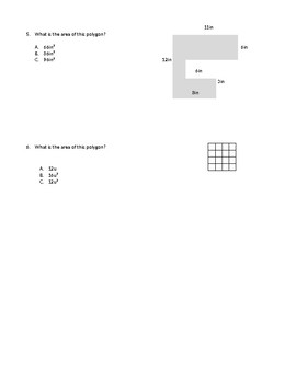 Finding Area of Polygons