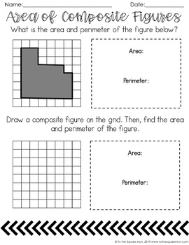 Finding Area of Polygons Interactive Notebook