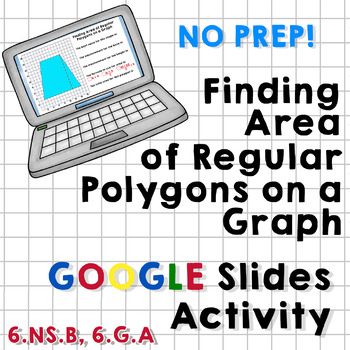 Finding Area of Regular Polygons on a Graph - Google Slides Activity