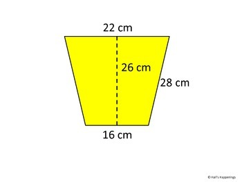 Finding Area of Trapezoids PowerPoint