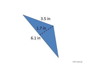 Finding Area of Triangles PowerPoint