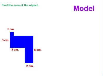 Finding Area of Odd Shaped Polygons Power Point