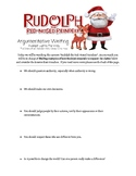 Finding Arguments in Rudolph the Red-Nosed Reindeer
