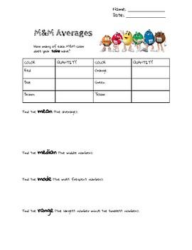 Finding Averages: Mean, Median, Mode, and Range